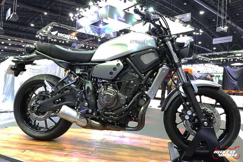 Yamaha เปิดตัวบิ๊กไบค์ใหม่ 2 รุ่น SCR950, XSR700 พร้อม M-SLAZ Limited Edition และ AEROX 155 สีใหม่ (Motor Expo 2017) | MOTOWISH 43