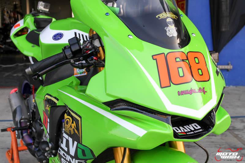 เจาะรถแข่ง Noi Daivo กับรถ Yamaha YZF-R1M ในศึก PTT BRIC Superbike 2017 สนามสุดท้าย | MOTOWISH 126