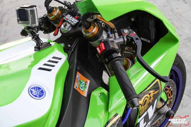เจาะรถแข่ง Noi Daivo กับรถ Yamaha YZF-R1M ในศึก PTT BRIC Superbike 2017 สนามสุดท้าย | MOTOWISH 118