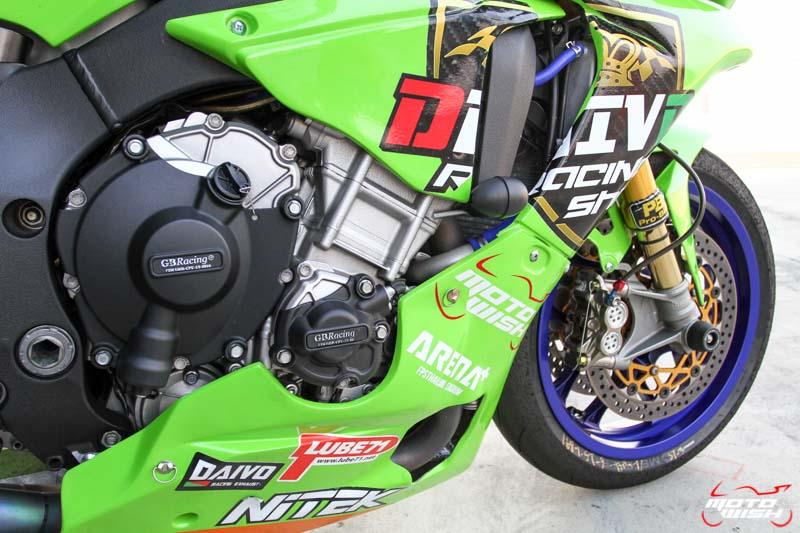 เจาะรถแข่ง Noi Daivo กับรถ Yamaha YZF-R1M ในศึก PTT BRIC Superbike 2017 สนามสุดท้าย | MOTOWISH 121