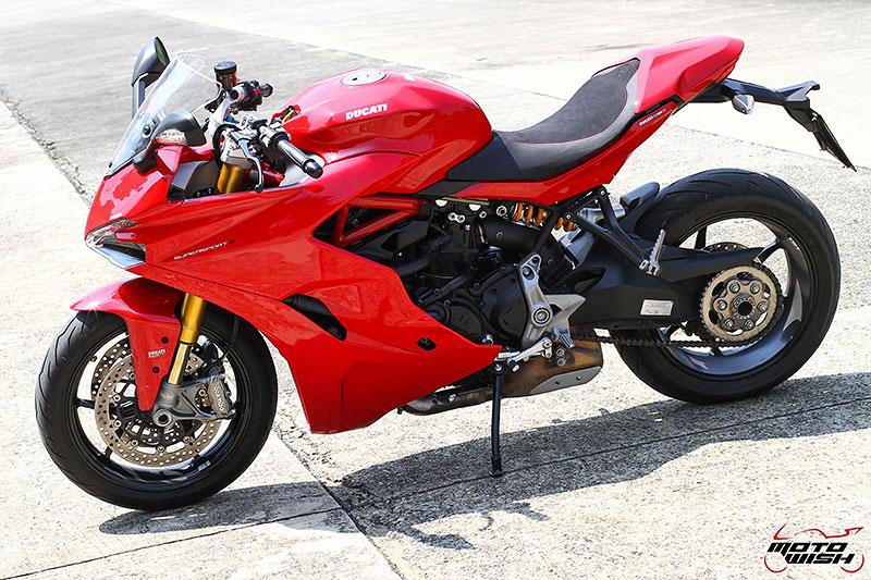 รีวิว Ducati Supersport S 2017 สปอร์ตไบค์ฟังก์ชั่นทัวร์ริ่ง ฟิลลิ่งสุดเร้าใจ   MOTOWISH 66