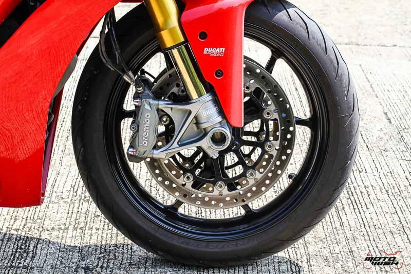 รีวิว Ducati Supersport S 2017 สปอร์ตไบค์ฟังก์ชั่นทัวร์ริ่ง ฟิลลิ่งสุดเร้าใจ   MOTOWISH 77