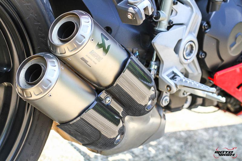 รีวิว Ducati Supersport S 2017 สปอร์ตไบค์ฟังก์ชั่นทัวร์ริ่ง ฟิลลิ่งสุดเร้าใจ   MOTOWISH 81