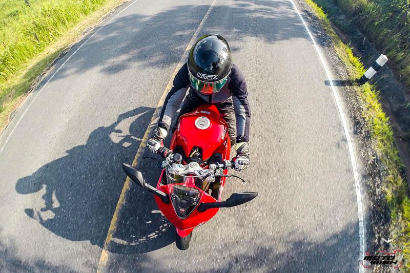 รีวิว Ducati Supersport S 2017 สปอร์ตไบค์ฟังก์ชั่นทัวร์ริ่ง ฟิลลิ่งสุดเร้าใจ   MOTOWISH 41