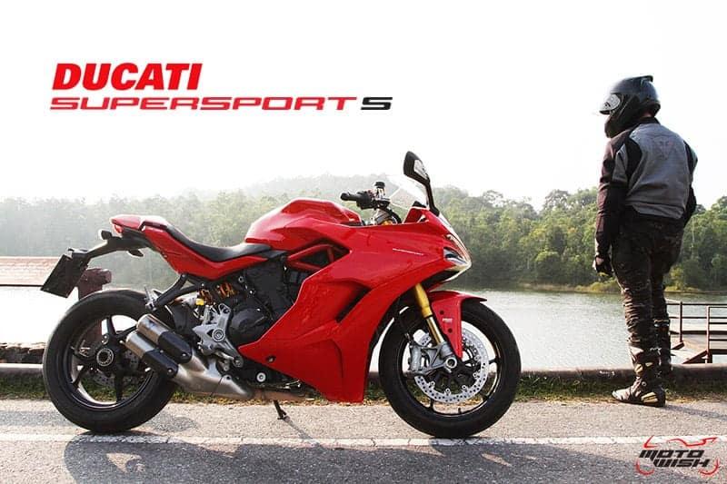 รีวิว Ducati Supersport S 2017 สปอร์ตไบค์ฟังก์ชั่นทัวร์ริ่ง ฟิลลิ่งสุดเร้าใจ | MOTOWISH 93