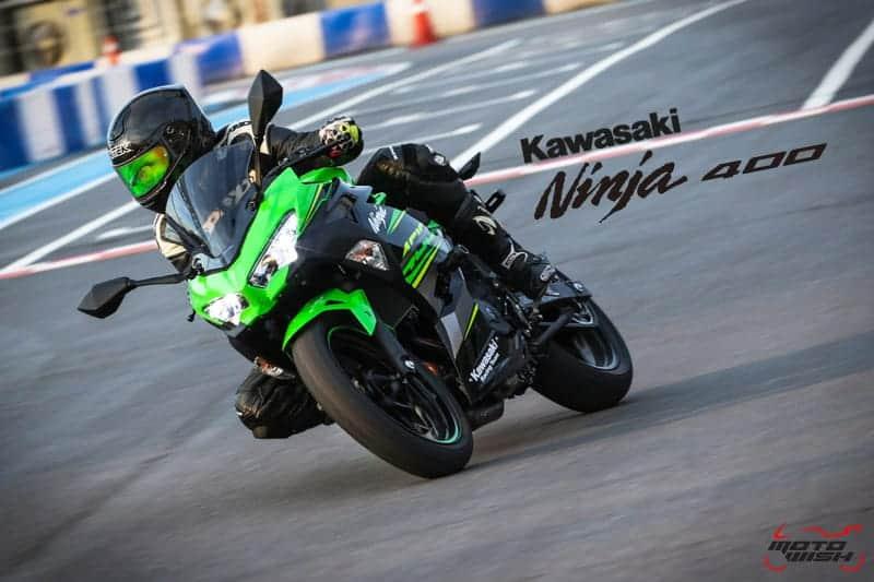 รีวิว New Kawasaki Ninja 400 : 2018 มีดีมากกว่าที่ตาเห็น ช่วงล่างจัดเต็มพิกัดความแรง | MOTOWISH 52