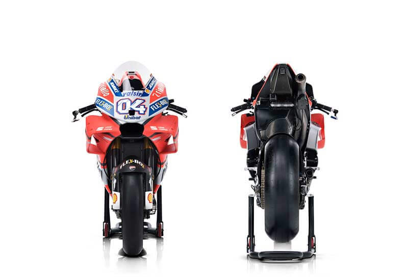 Ducati เปิดตัวเครื่องจักรสังหาร Desmosedici GP18 สวยล้ำ ทันสมัยในทุกมุมมอง | MOTOWISH 4