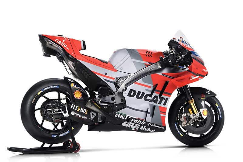 Ducati เปิดตัวเครื่องจักรสังหาร Desmosedici GP18 สวยล้ำ ทันสมัยในทุกมุมมอง | MOTOWISH 2