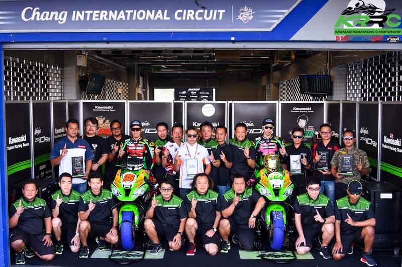 เปิดตัวรถแข่ง Ninja ZX-10RR 2018 จากทีมแข่ง Core Kawasaki Thailand Racing Team   MOTOWISH 22