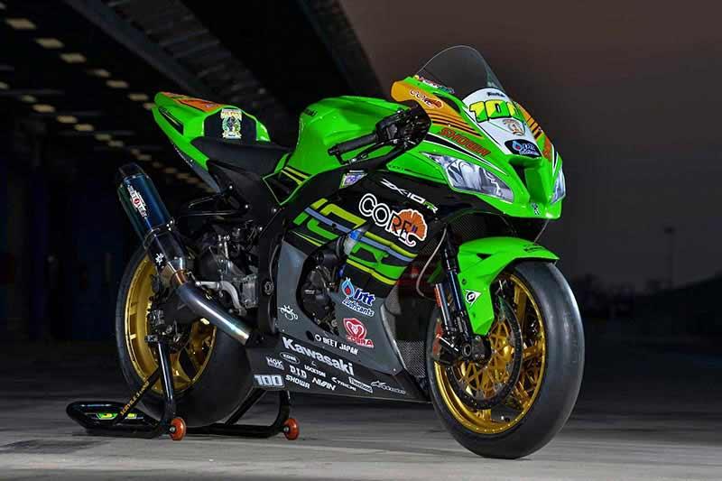 เปิดตัวรถแข่ง Ninja ZX-10RR 2018 จากทีมแข่ง Core Kawasaki Thailand Racing Team | MOTOWISH 20