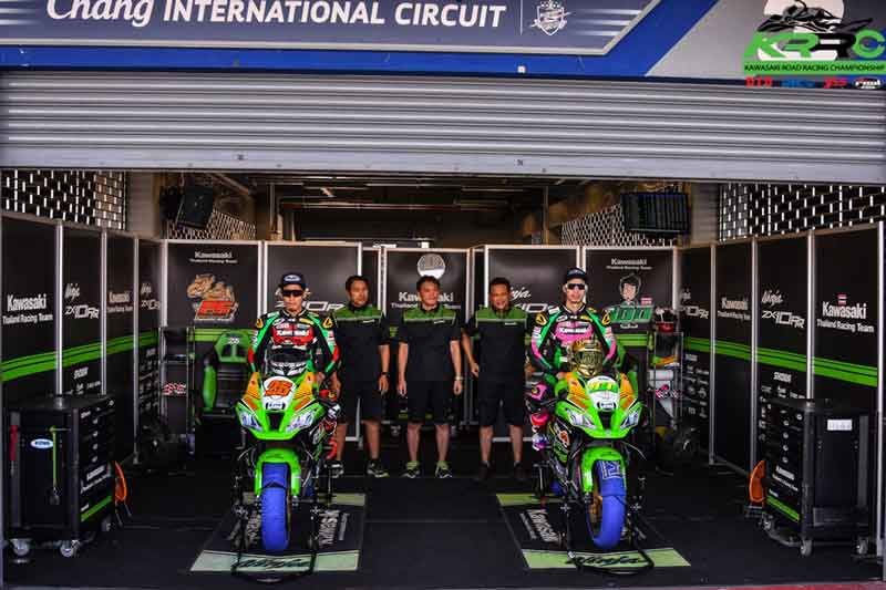 MotoWish Core Kawasaki Thailand Racing Team
