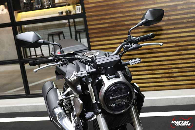 เปิดตัวรถ Honda CB300R 2018 Neo Sport Cafe' คราฟต์ให้สุดตัว | MOTOWISH 11