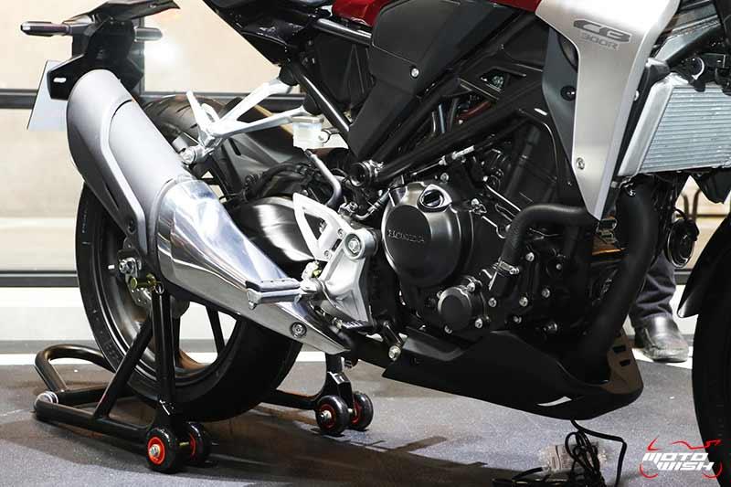 เปิดตัวรถ Honda CB300R 2018 Neo Sport Cafe' คราฟต์ให้สุดตัว | MOTOWISH 4