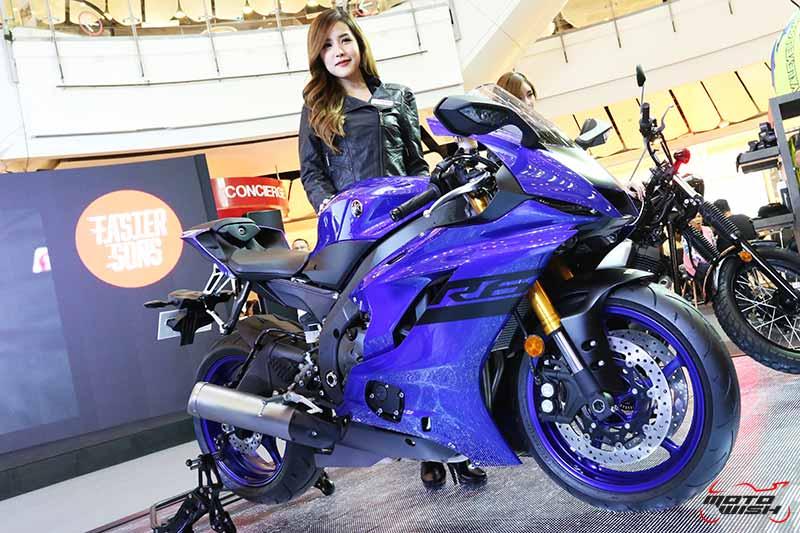 Yamaha เปิดตัว YZF-R6 2018 สีใหม่ พร้อมจัดโปรฯ บิ๊กไบค์เร้าใจทุกรุ่นในงาน BMF 2018 | MOTOWISH 52