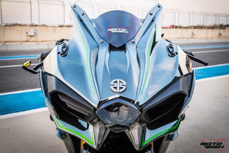 รีวิว Kawasaki Ninja H2 Trick Star : 258 แรงม้า ขีดสุดของความแรง คันแรกของเมืองไทย Full HD   MOTOWISH 26
