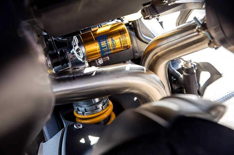 Triumph เผยโฉม Speed Triple S และ RS ใหม่ อัพเกรดอุปกรณ์ล้ำ เติมขุมพลังแบบจัดเต็ม   MOTOWISH 44