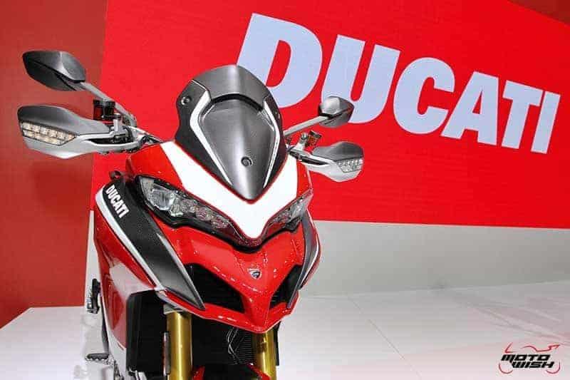 Ducati เปิดตัวชุดใหญ่ Monster 821, Multistrada 1260 Pike Peak, Scrambler 1100 ในงาน Motor Show 2018 | MOTOWISH 57