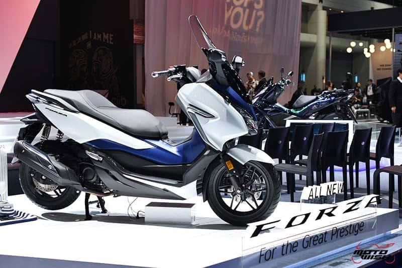 เผยโฉม All New Honda Forza 300 งามหรู ดูล้ำ เปิดราคา 1.69 แสนบาท (Motor Show 2018) | MOTOWISH 52