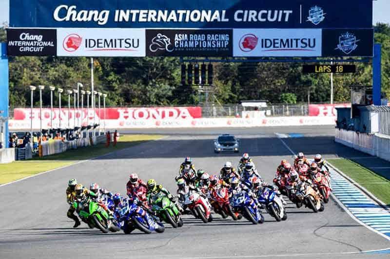 """MotoWish Asia Road Racing Championship 2018 Round 1 - ร่วมเชียร์ทัพนักบิดไทยล่าแชมป์โฮมเรซ """"สนามช้างฯ"""" เตรียมระเบิดศึกสองล้อเอเชีย 2-4 มี.ค.นี้ - ชาวสองล้อเตรียมระเบิดความมันส์ รายการจักรยานยนต์ทางเรียบชิงแชมป์เอเชีย รายการ เอเชีย โรด เรซซิ่ง แชมเปี้ยนชิพ 2018 สนามแรกของปี ระหว่างวันที่ 2-4 มีนาคมนี้ ซึ่งจะมีนักบิดไทยลงแข่งขันต่อหน้าแฟนความเร็วชาวไทยอย่างคับคั่งแข่ง ณ สนามช้าง อินเตอร์เนชั่นแนล เซอร์กิต จ.บุรีรัมย์"""