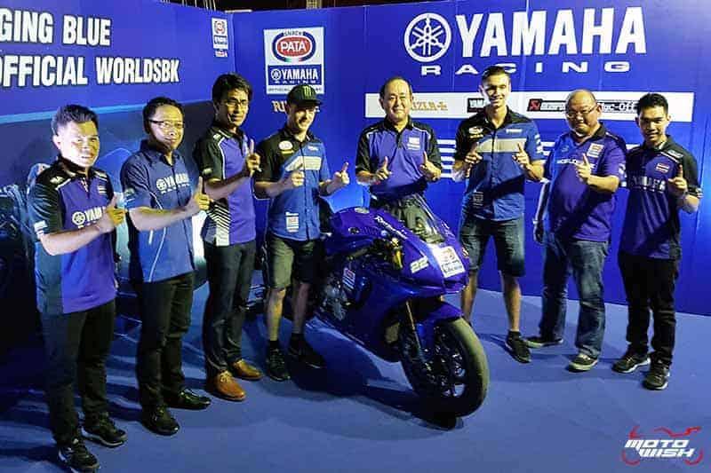 Yamaha Riders' Club จัดกิจกรรมกระแทกไหล่นักแข่งทีม Pata Yamaha Official WorldSBK Team | MOTOWISH 53