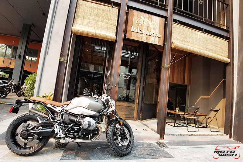 พาเพลินย่านรถหรู กาแฟหอม อาหารอร่อย ที่ร้าน Luka Moto By MF Motorrad | MOTOWISH 51