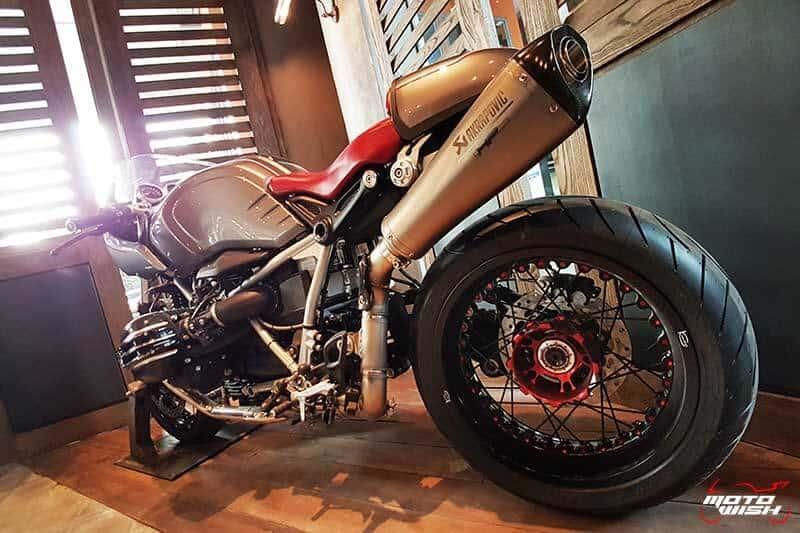 พาเพลินย่านรถหรู กาแฟหอม อาหารอร่อย ที่ร้าน Luka Moto By MF Motorrad | MOTOWISH 55