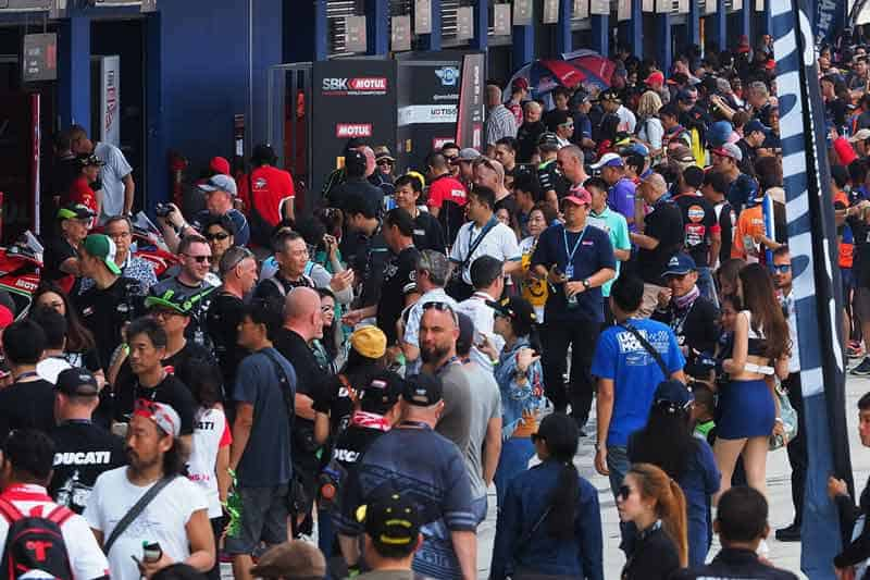 WorldSBK ก้าวสู่ MotoGP สนามช้างฯ เซอร์กิต ลั่นมอเตอร์สปอร์ตสองล้อประสบความสำเร็จสูงสุด | MOTOWISH 3