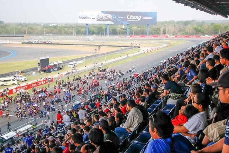 WorldSBK ก้าวสู่ MotoGP สนามช้างฯ เซอร์กิต ลั่นมอเตอร์สปอร์ตสองล้อประสบความสำเร็จสูงสุด | MOTOWISH 2