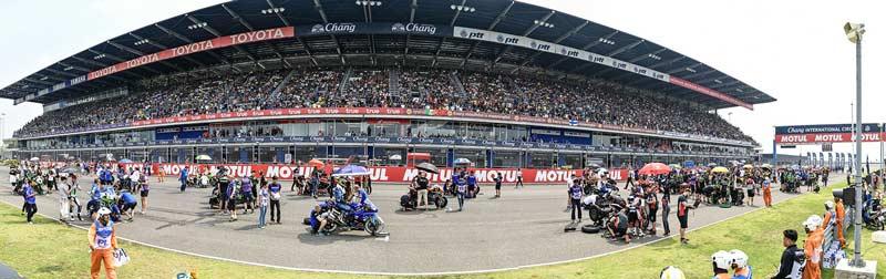 WorldSBK ก้าวสู่ MotoGP สนามช้างฯ เซอร์กิต ลั่นมอเตอร์สปอร์ตสองล้อประสบความสำเร็จสูงสุด | MOTOWISH 4