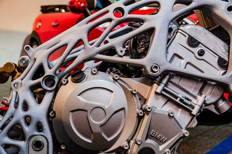 BMW ปล่องของ โชว์ตัวถัง และสวิงอาร์ม BMW S1000RR แบบ 3D Print | MOTOWISH 51