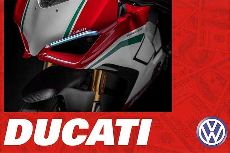 """Ducati volkswagen - ข่าวลือ!! Ducati อาจถูกขายอีกครั้ง หลังซีอีโอใหม่เข้ามาคุมเครือ Volkswagen - หลังจากเครือโฟล์กสวาเกนได้  """"Herbert Diess"""" ซีอีโอคนใหม่ เมื่อสัปดาห์ที่ผ่าน ก็มีข่าวลือเรื่องขายแบรนด์จักรยานยนต์ในเครืออย่าง Ducati ให้ได้ยินกันอีกครั้ง สำหรับการขายแบรนด์ Ducati เคยถูกพูดถึงเป็นอย่างมากเมื่อปีที่ผ่านมา"""