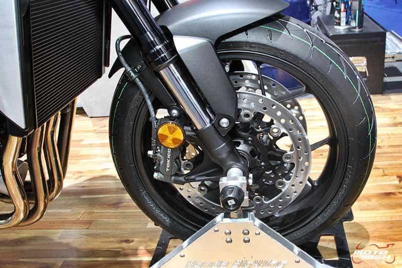 เผยโฉม Honda CB1000R นีโอ สปอร์ต คาเฟ่ รุ่นพี่ ดีกรีไม่ธรรมดา (Motor Show 2018) | MOTOWISH 3