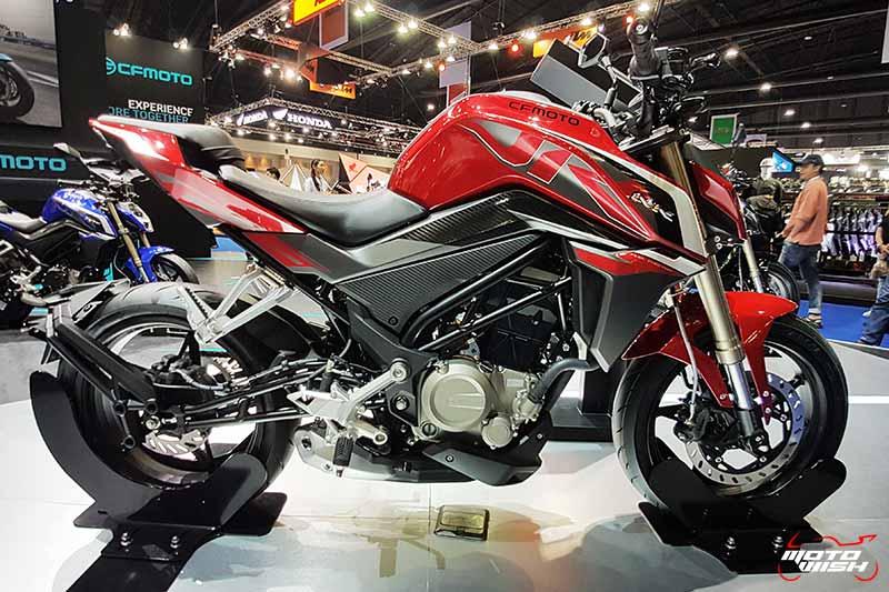 เปิดตัวรถแบรนด์ใหม่ในไทย CFMOTO 250cc.- 650cc. ดีไซน์ไม่ธรรมดา ราคาเริ่มต้นที่ 87,500 บาท | MOTOWISH 54