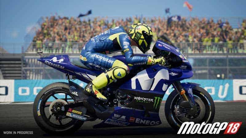 MotoGP™18 จากการแข่งขัน MotoGP สู่เกมเสมือนจริงสุดมันส์   MOTOWISH