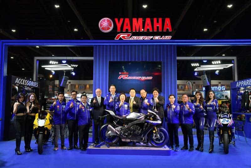 Yamaha จัดเต็ม R-Series และ MT-Series ร่วมงาน ออโต้ ซาลอน 2018 พร้อมโปรเด็ดเอาใจไบค์เกอร์ | MOTOWISH 1