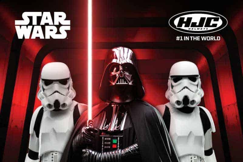 HJC ปล่อยหมวกรุ่นใหม่ เอาใจสาวกวายร้ายในหนัง Star War | MOTOWISH 1