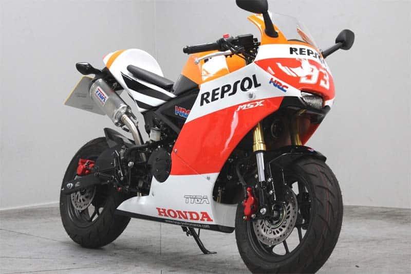 RC213V ยังต้องหลบ! เมื่อ Honda MSX 125 (GROM RR) แปลงร่างในโฉมรถ MotoGP | MOTOWISH 3