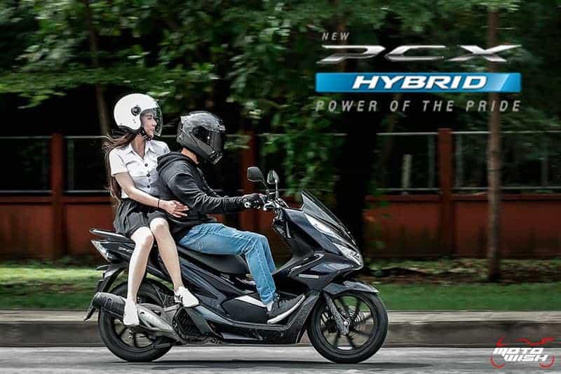 รีวิว Honda PCX Hybrid 2018 เมื่อเสียงหัวใจ...ดังกว่าเสียงเครื่องยนต์   MOTOWISH 35