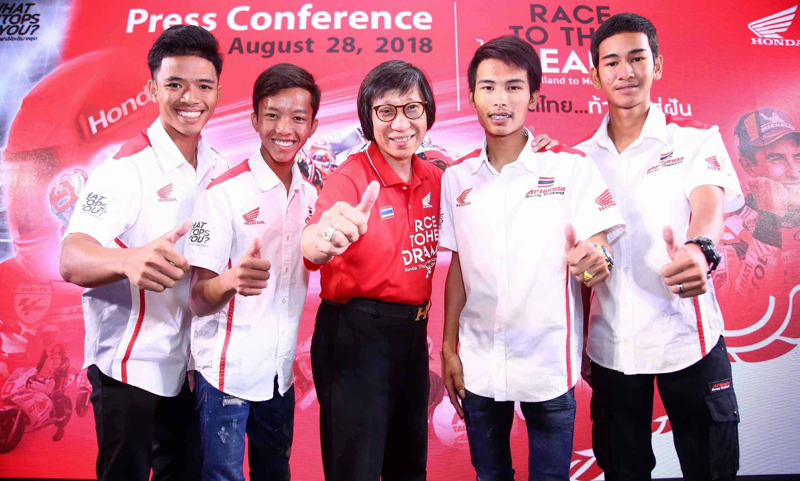 Honda ชวนคนไทยร่วมเชียร์นักแข่งไทยในบ้านเกิด รายการ PTT Thailand Grand Prix 2018 | MOTOWISH 5