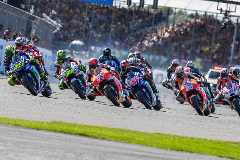 ตารางเวลาถ่ายทอดสด MotoGP 2018 สนามที่ 12 British GP พร้อมลิงค์ถ่ายทอดสดการแข่งขัน | MOTOWISH