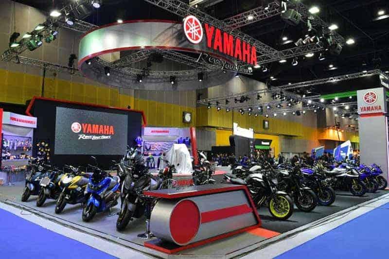 Yamaha เผยโฉม Tracer 900GT ใหม่ พร้อมเปิดราคา LEXi VVA อย่างเป็นทางการในงาน BMS2018 | MOTOWISH 2