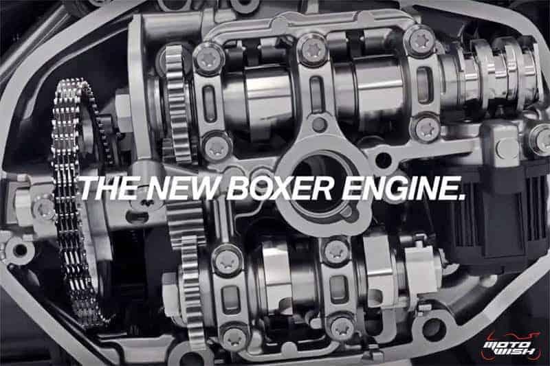 ชมการทำงานเครื่องยนต์ Boxer รุ่นใหม่ ใน R1250GS ผสานเทคโนโลยี Shift cam ปั่นแรงม้า 136 ตัว | MOTOWISH 2