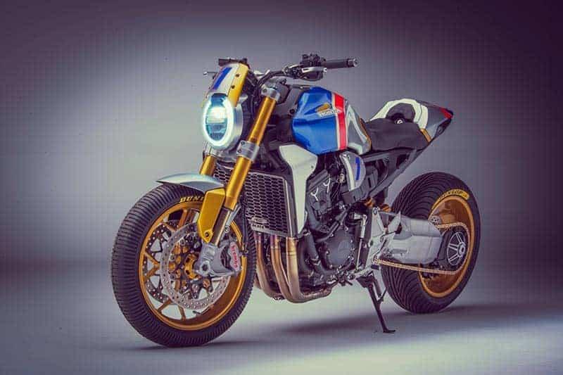 """Honda CB1000R"" คัสตอมสุดจี๊ด เพื่อ ""ไมเคิล ดูฮาน"" ในงาน Glemseck 101 | MOTOWISH 3"