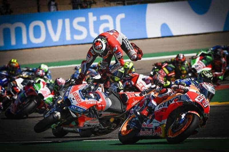 อัพเดท คะแนนสะสมนักแข่ง MotoGP 2018 หลังจบการแข่งขันสนามที่ 14 อารากอน ประเทศสเปน ก่อนดวลเดือดประเทศไทย | MOTOWISH