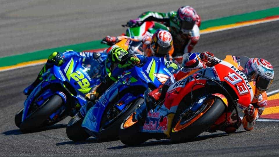 ย้อนหลังการแข่งขัน MotoGP 2018 สนามที่ 14 Aragon GP มันส์ตั้งแต่โค้งแรกยันจบเกมส์เดือด | MOTOWISH