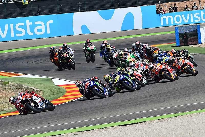 ตารางเวลาถ่ายทอดสด MotoGP 2018 สนามที่ 14 Aragon GP พร้อมลิงค์ถ่ายทอดสดการแข่งขัน | MOTOWISH