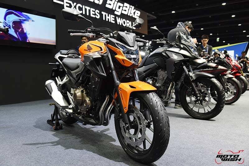 เปิดตัว All New Honda CBR500R, CB500F, CB500X พร้อมราคาโปรโมชั่น Motor Expo 2018   MOTOWISH 4