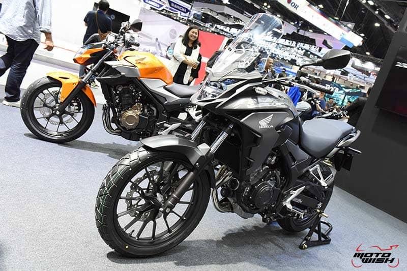 เปิดตัว All New Honda CBR500R, CB500F, CB500X พร้อมราคาโปรโมชั่น Motor Expo 2018   MOTOWISH 18