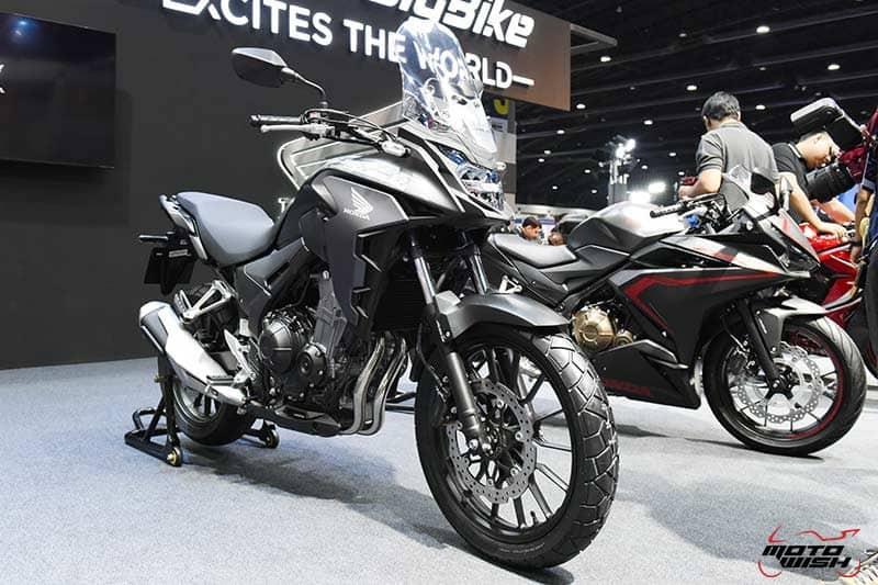 เปิดตัว All New Honda CBR500R, CB500F, CB500X พร้อมราคาโปรโมชั่น Motor Expo 2018   MOTOWISH 19