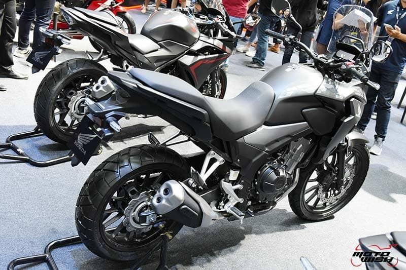 เปิดตัว All New Honda CBR500R, CB500F, CB500X พร้อมราคาโปรโมชั่น Motor Expo 2018   MOTOWISH 20
